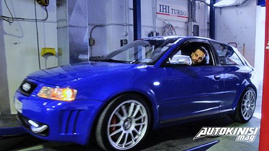 Audi A3 8L 0-400 Tune 2 Race 545hp