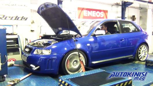 Audi A3 8L 0-400 Tune 2 Race
